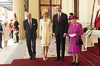 Spanish Royals at Buckingham Palace on the 1st Day of UK State Visit