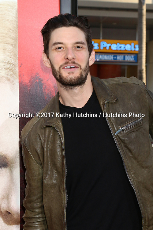 """LOS ANGELES - APR 18:  Ben Barnes at the """"Unforgettable"""" Premiere at TCL Chinese Theater IMAX on April 18, 2017 in Los Angeles, CA"""