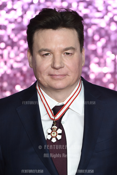 """LONDON, UK. October 23, 2018: Mike Myers at the world premiere of """"Bohemian Rhapsody"""" at Wembley Arena, London.<br /> Picture: Steve Vas/Featureflash"""