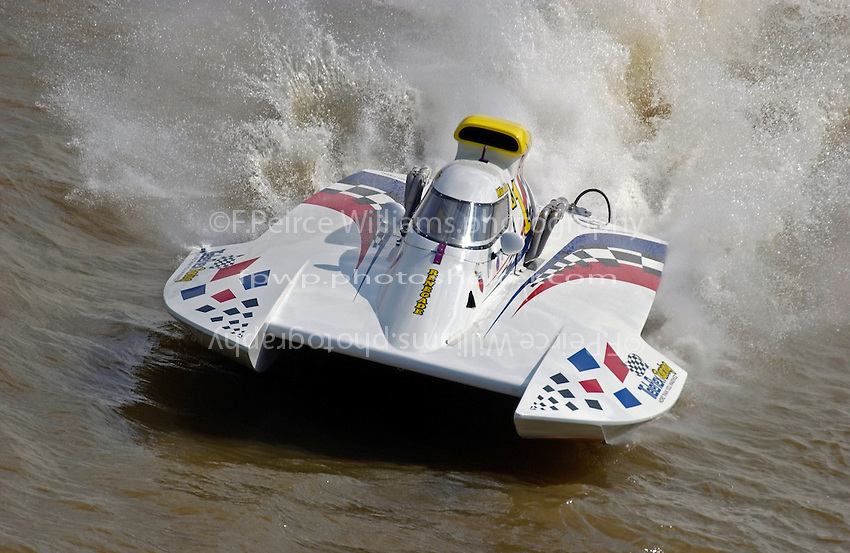 "Mike Allen, E-24 ""Teleflex Renegade"" (5 Litre class hydroplane)"