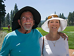 Lee and Susan Ruch during the Barracuda Golf Championship at Montreux on Sunday, August 5, 2018.