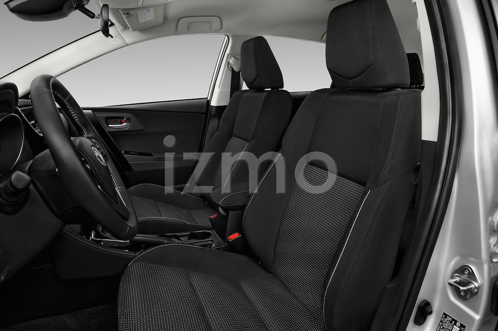 Front seat view of 2017 Toyota Corolla-iM CVT-Automatic 5 Door Hatchback Front Seat  car photos