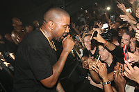 NEW YORK, NY - SEPTEMBER 7, 2016 Kanye West performs at his G.O.O.D. Music show September 7, 2016 at the Highline Ballroon in New York City. Photo Credit: Walik Goshorn / Mediapunch