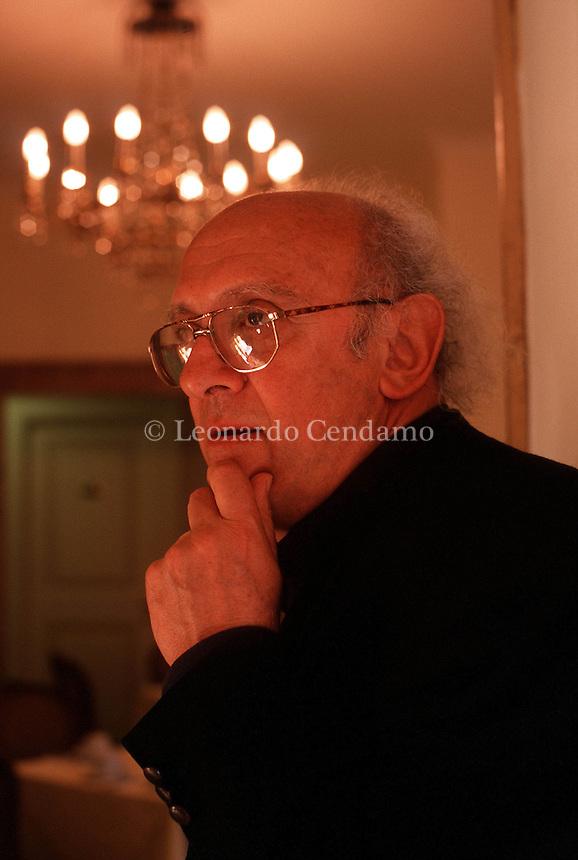 MAY 2000: PETROS MARKARIS, WRITER © Leonardo Cendamo