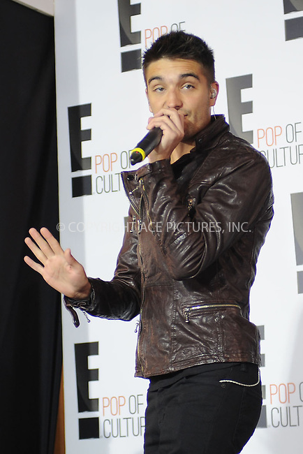 WWW.ACEPIXS.COM . . . . . .April 22, 2013...New York City....Tom Parker of The Wanted attends the E! 2013 Upfront at The Grand Ballroom at Manhattan Center on April 22, 2013in New York City.....Please byline: KRISTIN CALLAHAN - WWW.ACEPIXS.COM.. . . . . . ..Ace Pictures, Inc: ..tel: (212) 243 8787 or (646) 769 0430..e-mail: info@acepixs.com..web: http://www.acepixs.com .