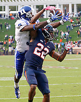 Duke defeated Virginia 35-22 at Scott Stadium in Charlottesville, VA. . Photo/Andrew Shurtleff