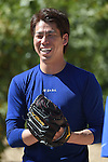 Kenta Maeda (Dodgers),<br /> FEBRUARY 27, 2016 - MLB :<br /> Los Angeles Dodgers spring training baseball camp in Glendale, Arizona, United States. (Photo by AFLO)