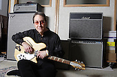 DOUG FIEGER, THE KNACK, AT HOME WITH GUITAR COLLECTION, NEIL ZLOZOWER STUDIO, 2007