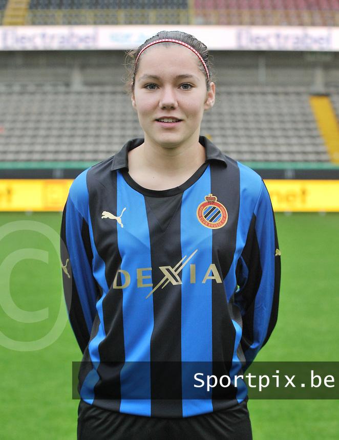 Club Brugge Dames : Elien Van Wynendaele.foto VDB / BART VANDENBROUCKE