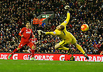 Roberto Firmino of Liverpool scores the third goal past Joe Hart of Manchester City - English Premier League - Liverpool vs Manchester City - Anfield Stadium - Liverpool - England - 3rd March 2016 - Picture Simon Bellis/Sportimage