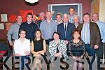 Ballybunion Fire Station Xmas party: The staff of Ballybunion Fire station, enjoying their Christmas Party at McMunn's Restaurantl on Friday night last.