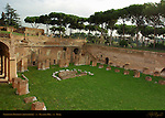 Stadium of Domitian Hippodrome North end Palatine Hill Rome