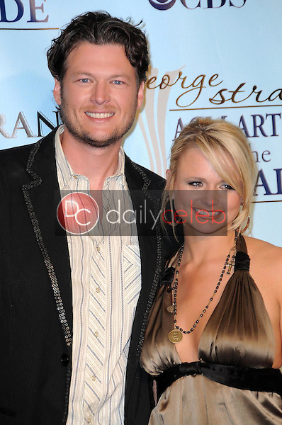 Blake Shelton and Miranda Lambert<br />
