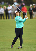 28th September 2017, Windross Farm, Auckland, New Zealand; LPGA McKayson NZ Womens Open, first round;  New Zealand's Lydia Ko plays the 9th fairway