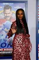 """LOS ANGELES - FEB 12:  Tika Sumpter at the """"Sonic The Hedgehog"""" Special Screening at the Village Theater on February 12, 2020 in Westwood, CA"""