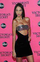 NEW YORK, NY - DECEMBER 02:  Yasmin Wijnaldum attends the Victoria's Secret Viewing Party at Spring Studios on December 2, 2018 in New York City. <br /> CAP/MPI/JP<br /> &copy;JP/MPI/Capital Pictures