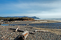 A springtime view of Washburne Beach State Park, Oregon.
