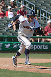 May 22, 2014; Stockton, CA, USA; Pepperdine Waves second baseman Hutton Moyer during the WCC Baseball Championship at Banner Island Ballpark.
