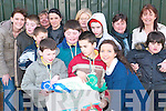 Day out: Enjoying their time at the Listowel Equestrian Centre on Friday were teachers and pupils of the Balloonagh School in Tralee. Pictured were front l-r Jack Bambury, Diarmuid McDonnell, Siobhan Daly. Back l-f Ger O'Mahoney, Elaine Daughton, Cian Begley, Kate Norris, Patrick O'Mahoney, Therese Greaney, Laura O'Brien, Jack Galvin, Catherine Cullinane, Tom McEnery and Aine Baker.   Copyright Kerry's Eye 2008