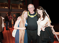Alumni, faculty, family and friends honor Professor Alan Freeman during the Freeman Fund Follies at Keck Theater at Occidental College, Los Angeles, Calif., January 15, 2011. (Photo by Marc Campos, Occidental College Photographer)