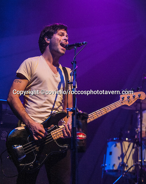 Jesse Quin of Keane plays The Boston House of Blues in their tour opening performance.