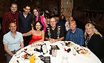 Vitaly Beckman with family and friends attend the Off-Broadway Opening Night After Call for 'Vitaly: An Evening of Wonders' at The Palm Restaurant on June 20, 2018 in New York City.