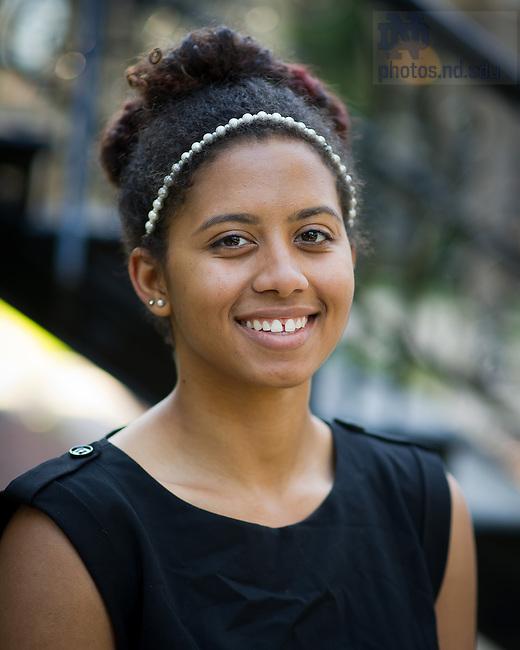 Sept. 24, 2013; AnBryce Scholars<br /> <br /> Photo by Matt Cashore/University of Notre Dame