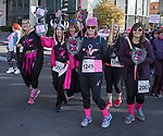 A photograph taken during the Susan G. Koman Race for the Cure in Reno, Nevada on Sunday, October 15, 2017.