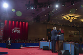 U.S. President Donald Trump speaks during CPAC 2019 on March 02, 2019 in Washington, DC. The American Conservative Union hosts the annual Conservative Political Action Conference to discuss conservative agenda.<br /> Credit: Tasos Katopodis / Pool via CNP