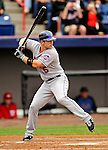 10 March 2011: New York Mets' third baseman David Wright at bat during a Spring Training game against the Washington Nationals at Space Coast Stadium in Viera, Florida. The Nationals edged out the Mets 6-5 in Grapefruit League play. Mandatory Credit: Ed Wolfstein Photo