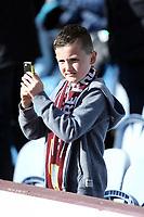 Burnley fans soak-up the atmosphere ahead of kick-off<br /> <br /> Photographer Rich Linley/CameraSport<br /> <br /> The Premier League - Burnley v Huddersfield Town - Saturday 6th October 2018 - Turf Moor - Burnley<br /> <br /> World Copyright &copy; 2018 CameraSport. All rights reserved. 43 Linden Ave. Countesthorpe. Leicester. England. LE8 5PG - Tel: +44 (0) 116 277 4147 - admin@camerasport.com - www.camerasport.com
