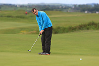 Ian Lynch (Rosslare) on the 1st green during Round 2 of The East of Ireland Amateur Open Championship in Co. Louth Golf Club, Baltray on Sunday 2nd June 2019.<br /> <br /> Picture:  Thos Caffrey / www.golffile.ie<br /> <br /> All photos usage must carry mandatory copyright credit (© Golffile | Thos Caffrey)
