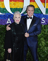 09 June 2019 - New York, NY - Shirley Jones and Shaun Cassidy. 73rd Annual Tony Awards 2019 held at Radio City Music Hall in Rockefeller Center. Photo Credit: LJ Fotos/AdMedia