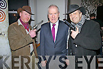 Cowboys and Politicians at the opening of the South Kerry Clan Gathering in The Royal hotel on Saturday night last pictured l-r; Mike Greaney, Minister Jimmy Deenihan & Seamus Collins.