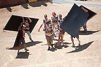 Training Red Bull X-Fighters 2012. Madrid. Rider In the picture Jeremy Rouanet FRA. July 19, 2012. (ALTERPHOTOS/Ricky Blanco) /NortePhoto.com<br />  <br /> **CREDITO*OBLIGATORIO** *No*Venta*A*Terceros*<br /> *No*Sale*So*third* ***No*Se*Permite*Hacer Archivo***No*Sale*So*third*©Imagenes*con derechos*de*autor©todos*reservados*.