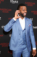 """LOS ANGELES - MAR 5:  Demore Barnes at the """"American Gods"""" Season 2 Premiere at the Theatre at Ace Hotel on March 5, 2019 in Los Angeles, CA"""