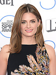 Stana Katic<br /> <br /> <br /> <br />  attends 2015 Film Independent Spirit Awards held at Santa Monica Beach in Santa Monica, California on February 21,2015                                                                               &copy; 2015Hollywood Press Agency