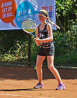 Netherlands, Dordrecht, August 03, 2015, Tennis,  National Junior Championships, NJK, TV Dash 35, Madelief van Heese<br /> Photo: Tennisimages/Henk Koster