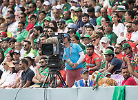 The camera crew in with he crowd during Pakistan vs Bangladesh, ICC World Cup Cricket at Lord's Cricket Ground on 5th July 2019