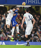Olivier Giroud of Chelsea and Luka Milivojević of Palace <br /> Londra 10-03-2018 Premier League <br /> Chelsea - Crystal Palace<br /> Foto PHC Images / Panoramic / Insidefoto <br /> ITALY ONLY