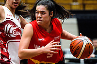 Charlisse Leger-Walker in action during the 2017 national under-19 basketball championship tournament women's final between Canterbury and Waikato at The North Shore Events Centre in Hillcrest, Auckland, New Zealand on Tuesday, 6 June 2017. Photo: Dave Lintott / lintottphoto.co.nz