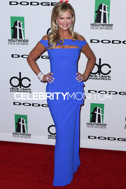 BEVERLY HILLS, CA - OCTOBER 21: Nancy O'Dell at 17th Annual Hollywood Film Awards held at The Beverly Hilton Hotel on October 21, 2013 in Beverly Hills, California. (Photo by Xavier Collin/Celebrity Monitor)
