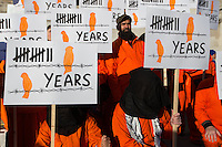 Guantanamo prison demo