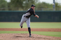 Chicago White Sox pitcher Cameron Seitzer (32) follows through on his delivery during an Instructional League game against the San Diego Padres on September 26, 2017 at Camelback Ranch in Glendale, Arizona. (Zachary Lucy/Four Seam Images)