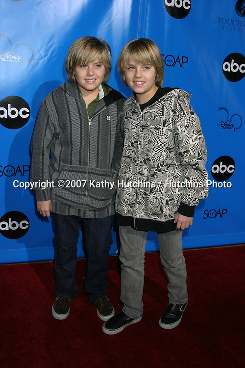 Dylan & Cole Sprouse.ABC Television Critics Association Press Tour Party.Ritz-Carlton Hotel.Pasadena   CA.January 14, 2007.©2007 Kathy Hutchins / Hutchins Photo.