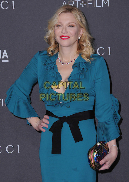 29 October 2016 - Los Angeles, California. Courtney Love. 2016 LACMA Art+Film Gala honoring Robert Irwin and Kathryn Bigelow presented by Gucci held at LACMA. <br /> CAP/ADM/BT<br /> &copy;BT/ADM/Capital Pictures