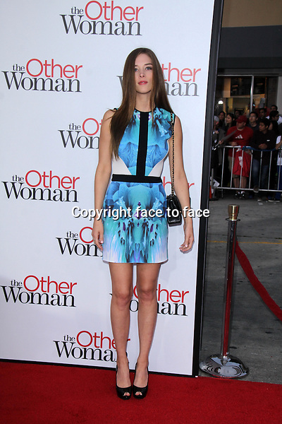 WESTWOOD, CA - April 21: Chelsea Turnbo at the &quot;The Other Woman&quot; Los Angeles Premiere, Village Theater, Westwood, April 21, 2014.<br />