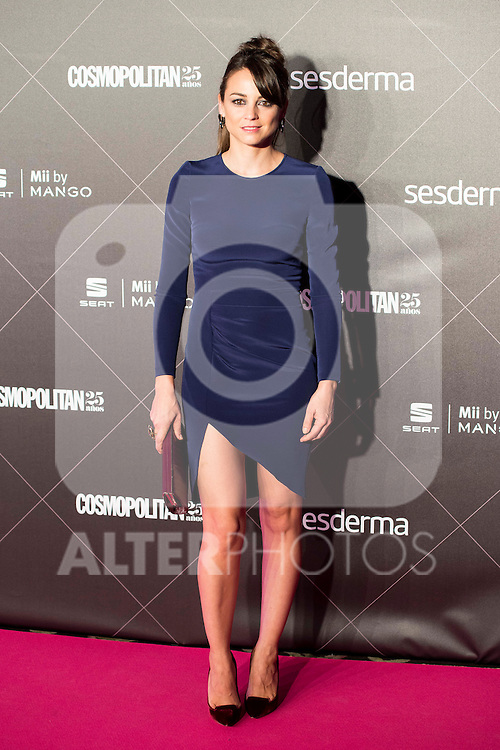 Leonor Watling attends to the award ceremony of the VIII edition of the Cosmopolitan Awards at Ritz Hotel in Madrid, October 27, 2015.<br /> (ALTERPHOTOS/BorjaB.Hojas)