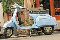 A 1966 Vespa 125 Super.