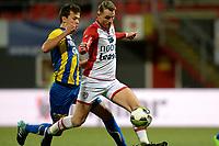 EMMEN - Voetbal, FC Emmen - FC Oss, Jens Vesting, Jupiler League, seizoen 2017-2018, 27-10-2017,  FC Emmen speler Cas Peters